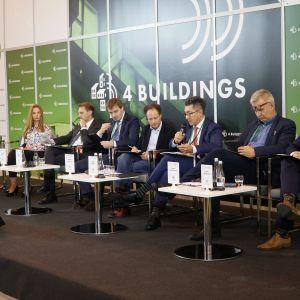 """4Buildings: sesja inauguracyjna """"Zero waste w budownictwie. Fot. PTWP"""