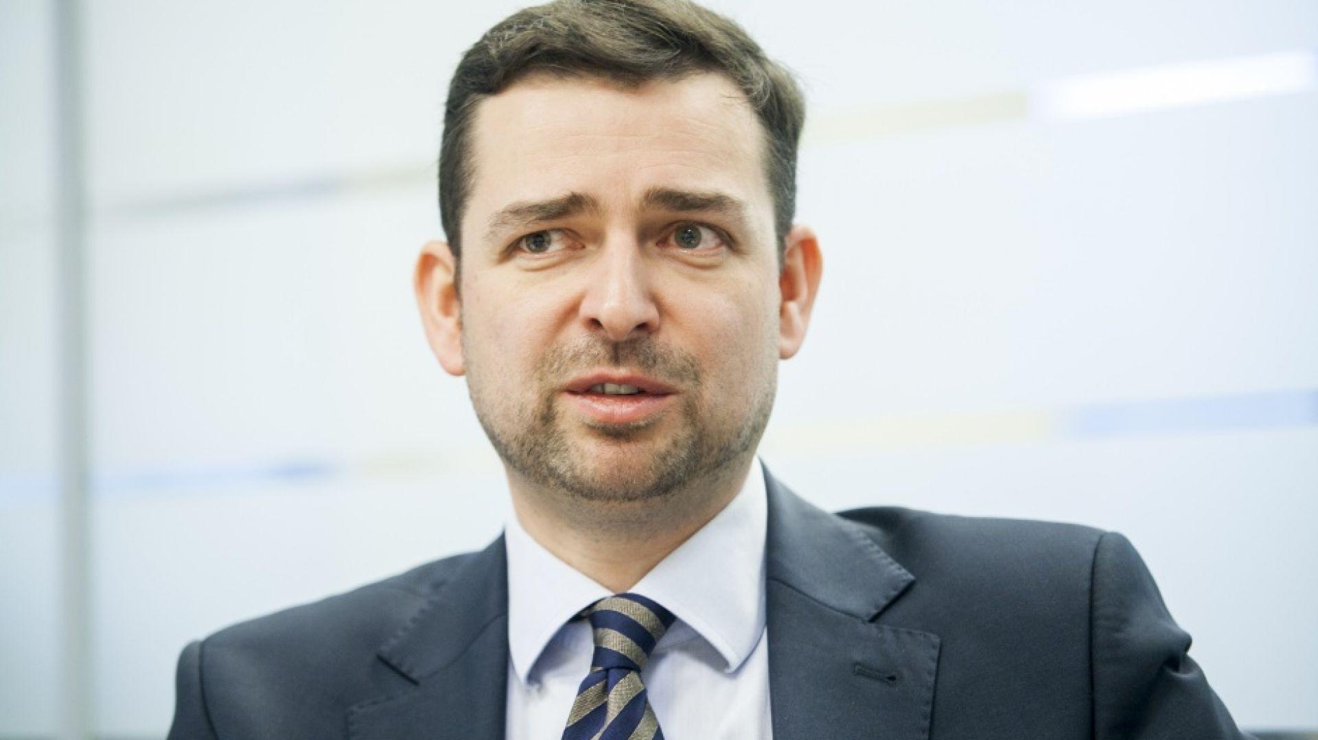 Jan Styliński, prezes zarządu Polskiego Związku Pracodawców Budownictwa. Fot. PTWP.