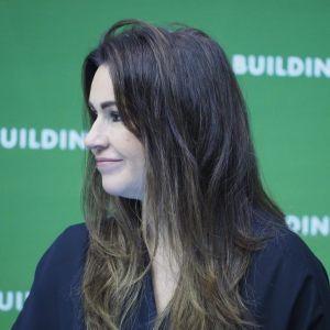 """Beata Tadla. 4Buildings: sesja """"Barometr zdrowych domów"""". Fot. PTWP"""