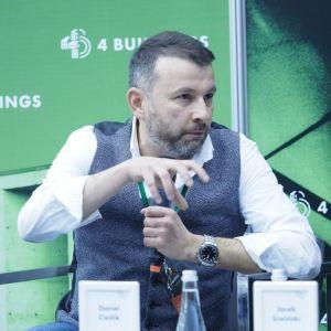 """Daniel Cieślik. 4Buildings: sesja """"Barometr zdrowych domów"""". Fot. PTWP"""
