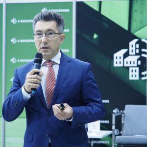 """Jacek Siwiński. 4Buildings: sesja """"Barometr zdrowych domów"""". Fot. PTWP"""