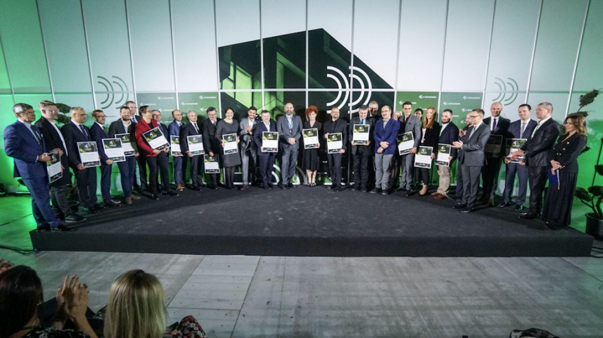 Zwycięzcy w konkursie 4Buildings Awards 2019. Fot. PTWP/Michał Oleksy