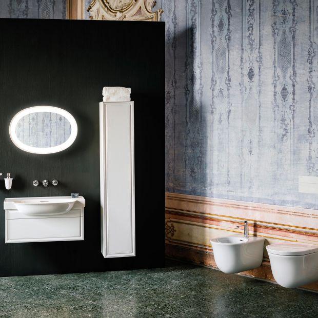 Klasyczna łazienka - stylowa ceramika w nowoczesnej odsłonie
