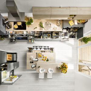 Nolte Küchen gwarantuje stabilną i komfortową pracę szuflad, pełen wysuw, wysokie ścianki boczne i tylne oraz dopasowane wkłady. Fot. Nolte Küchen