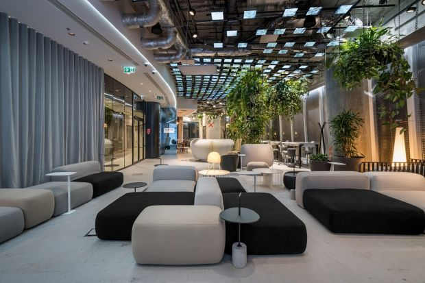 Eko biuro: zobacz wnętrze łącząc design, technologię i ekologię!