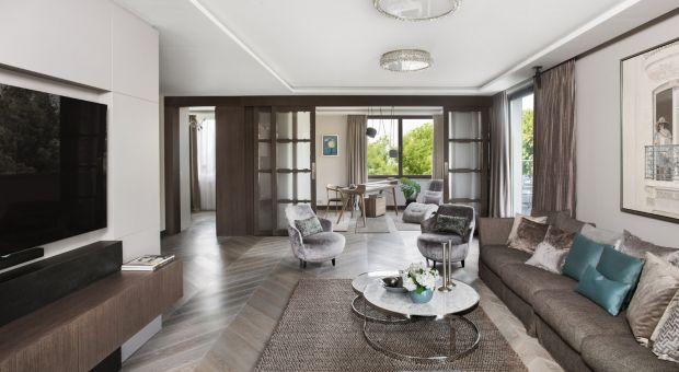 Luksusowy apartament w sercu Warszawy - elegancja w stylu włoskim