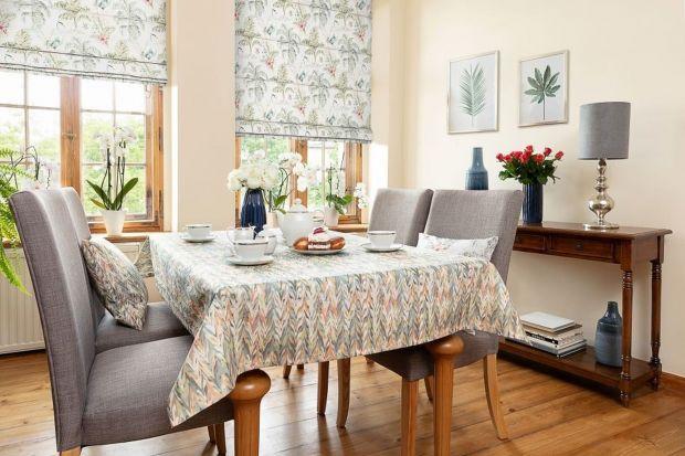 Aranżacja wnętrza - pomysł na salon, sypialnię i jadalnię