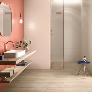Wyraziste kolory w łazience. Nowa kolekcja płytek ceramicznych Lightplay marki Villeroy & Boch. Fot. Villeroy & Boch
