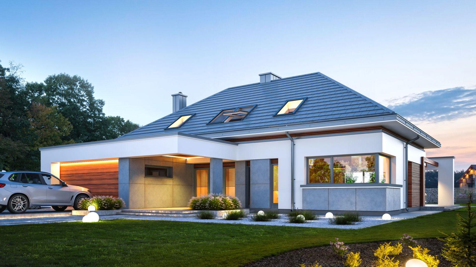 Nowoczesny dom. Zobacz idealny projekt dla współczesnej rodziny