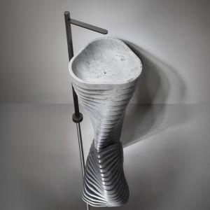 Umywalka Vortice. Fot. Antonio Lupi