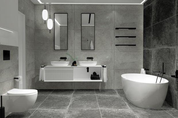 Czarne akcesoria łazienkowe: modne i ekologiczne