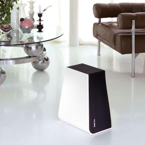 Zdrowe powietrze w domu - eleganckie urządzenie nawilży je i oczyści