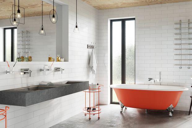 Komfortowa łazienka - odważny kolor doda charakteru