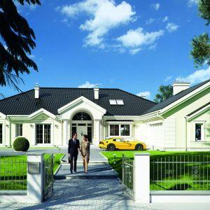 Rezydencja Parkowa to piękna parterowa willa. W sam raz dla posiadaczy dużych działek. Fot. MG Projekt