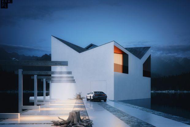 Architekturę bryłyprojektu Korona zdeterminowało górzyste otoczenie, które stało się dla projektantów ideą wyjściową. Architekci postanowili wkomponować dom w krajobraz, ale nie poprzez dynamiczną formę bryły całego obiektu, ale poprzez