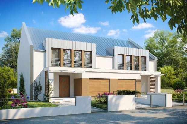 Dom w stylu nowoczesnym. Tani i łatwy w budowie