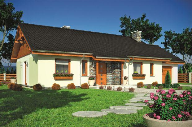 Tukan (A) to tradycyjny, jednorodzinny, parterowy dom, przeznaczony dla 4-osobowej rodziny. Na stosunkowo niewielkiej powierzchni (około 100 m²) udało się stworzyć komfortowe i wygodne mieszkanie.