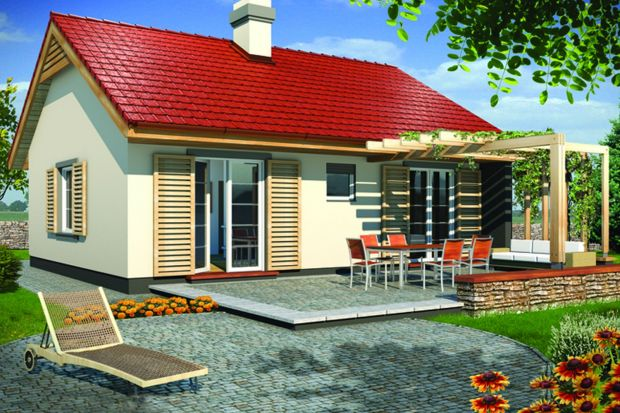 Bardzo mały dom. Jak mieszka się na 60 m²?