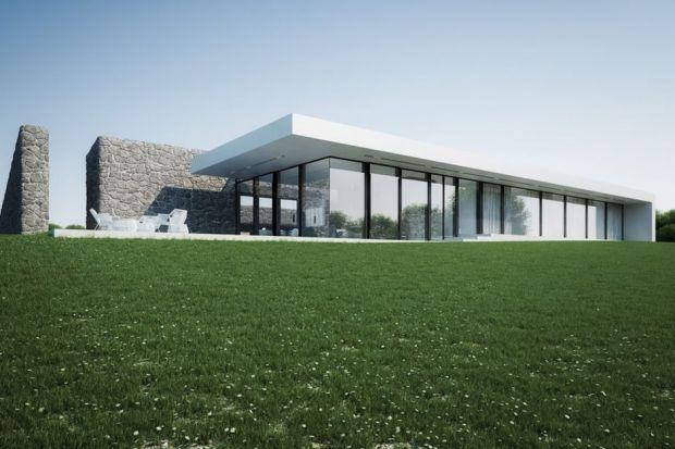 Nowoczesny dom – zobacz oryginalny projekt domu na polanie