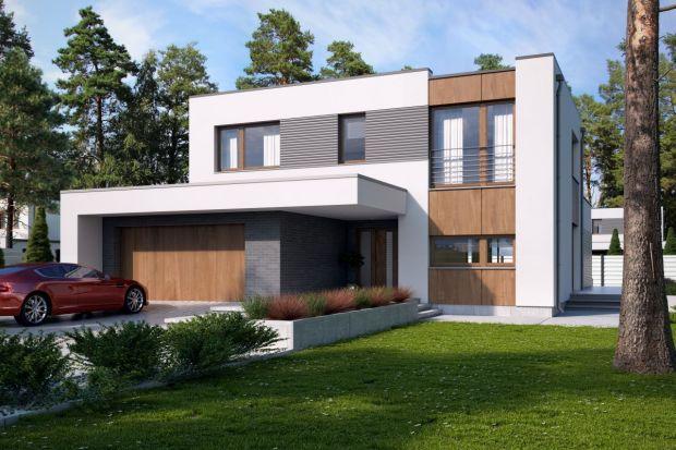 Nowoczesny duży dom. Zobacz ciekawy projekt