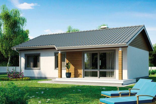 Z7 to projekt małego (82m²) domu parterowego z dwuspadowym dachem, który z łatwością można zaaranżować na wygodny i funkcjonalny dom dla 4-osobowej rodziny.