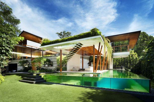 The Willow House. Zobacz, jakie domy budują w Singapurze