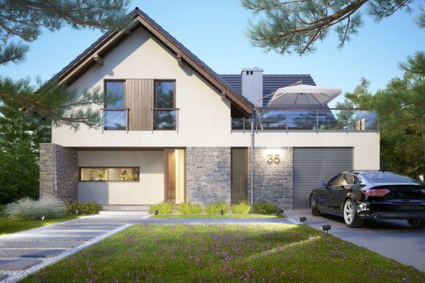 Dom z poddaszem - idealny dla czteroosobowej rodziny
