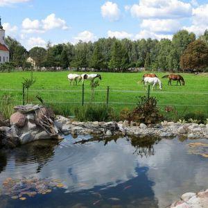 Położenie osiedla pozwala na korzystanie ze wszystkich uroków życia na wsi.