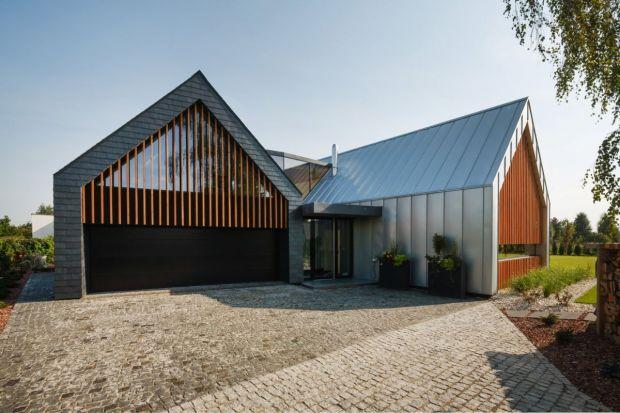 Dwie stodoły. Zobacz realizację domu jednorodzinnego w Tychach