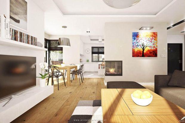 Nowoczesne wnętrza charakteryzują jasne, często białe, kolory, otwarte przestrzenie i duże przeszklenia. Wszystkie te elementy można znaleźć w domu Henryk I.