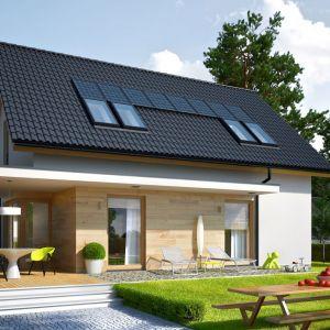 Energooszczędny charakter formy niemal całkowicie minimalizuje ryzyko występowania mostków termicznych, a doskonała izolacja sprawia, że ciepło zostaje zatrzymane wewnątrz budynku. Fot. Pracownia Projektowa Archipelag