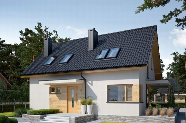 Lila Economic to dom przeznaczony dla rodziny, która ceni funkcjonalne rozwiązania i ponadczasowe piękno. Dzięki prostej konstrukcji dom jest tani i szybki w budowie.