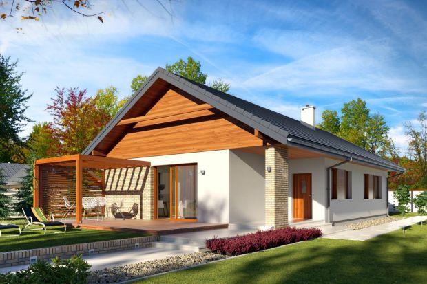 Nowoczesny drewniany dom. Zobacz ciekawy projekt