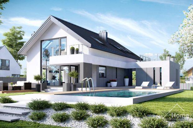 Nowoczesny, energooszczędny dom z garażem