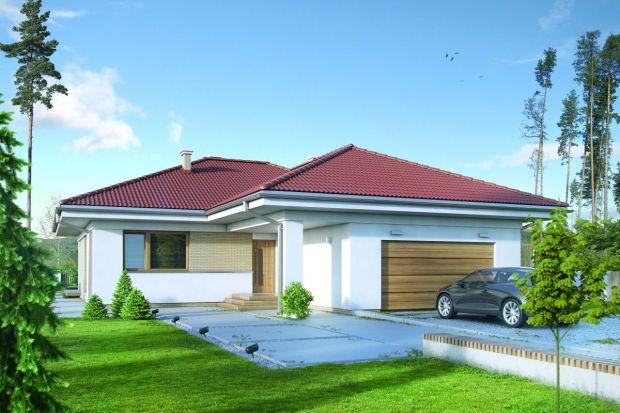 Parterowy dom - idealny na podmiejską działkę