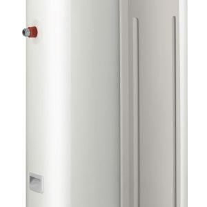 Jednym z najpopularniejszych urządzeń w ofercie De Dietrich jest termodynamiczny podgrzewacz c.w.u, Kaliko działający zgodnie z zasadą powietrznej pompy ciepła. Może on pobierać energię z pomieszczenia lub z zewnątrz. Sprawdza się zwłaszcza w domach o dużym zapotrzebowaniu na ciepłą wodę, przynosząc realne oszczędności  Fot. De Dietrich