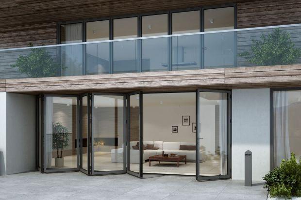 Duże okna. Zobacz nowy system drzwi harmonijkowych