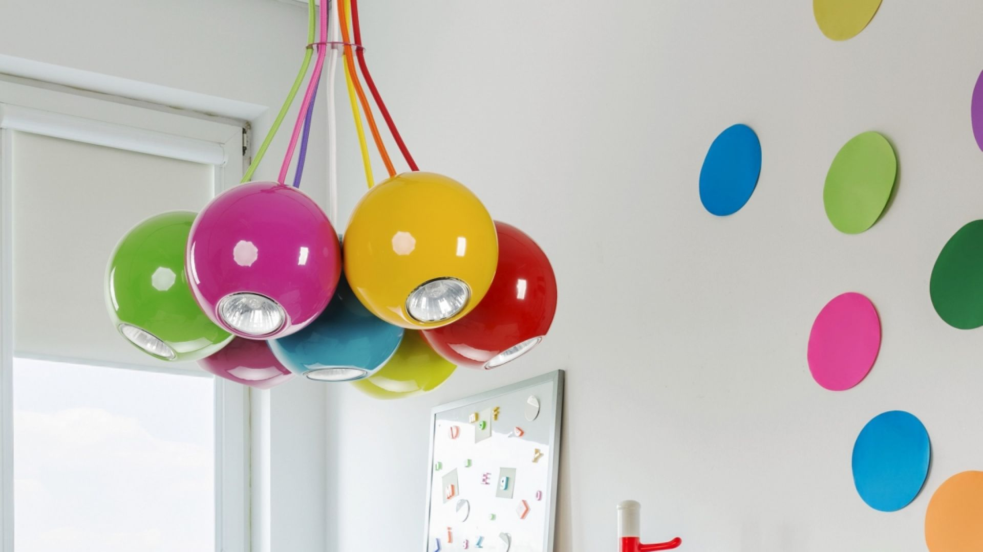 Kolekcja Malwi stworzona została z myślą o najmłodszych członkach rodziny. Fot. Nowodvorski Lighting