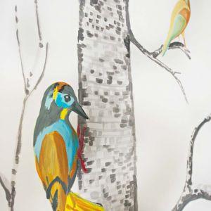Piękne, kolorowe rysunki ptaków na pewno spodobają się dziecku. Fot. Muppetshop