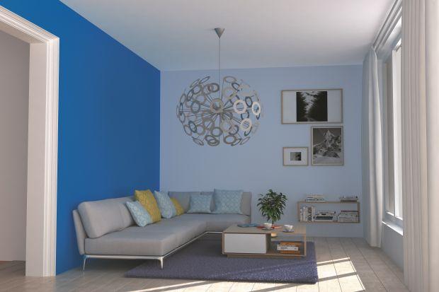 Wielki błękit – niebieski w salonie i w sypialni