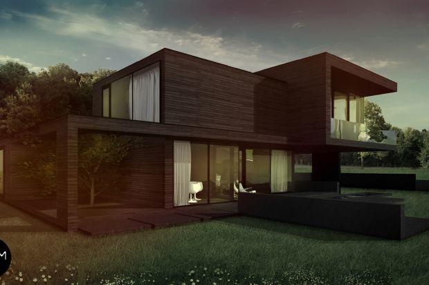 Dom z płaskim dachem to projekt nowoczesnego domu zlokalizowanego w krajobrazie polskiej wsi na obrzeżach miasta. Inwestorzy to rodzina przenosząca się z mieszkania w typowo miejskiej zabudowie, marząca o własnym domu z dala od miejskiego zgiełku.