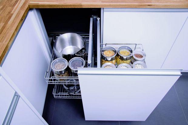 Praktyczne szafki do małej kuchni