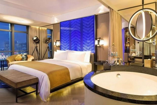 Lustro miasta – hotel W Beijing Chang'an w Pekinie
