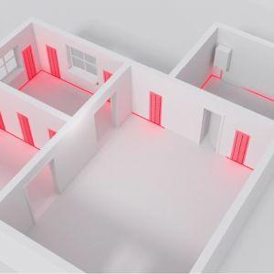 Zastosowanie grzejników płaszczyznowych znane jest już od bardzo dawna. 3THERMO opracowało innowacyjną technologię pozwalającą na umieszczenie grzejników podtynkowych w ścianach przy jednoczesnym zachowaniu funkcjonalności przegród. Fot. 3THERMO