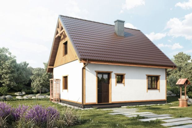 Mały, drewniany dom. Zobacz projekt!