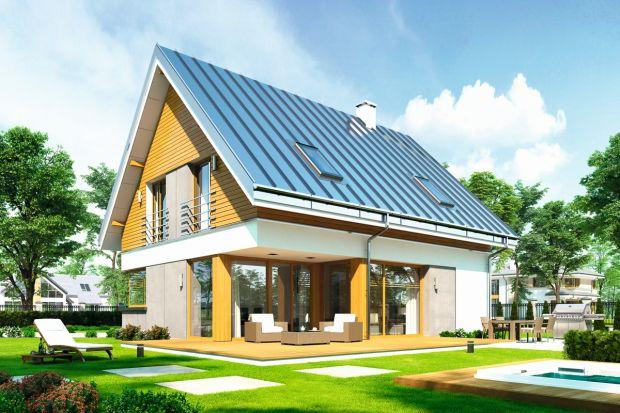 Viking 2 to przykład nowoczesnego, małego, energooszczędnego domu, który można wybudować na stosunkowo niedużej działce. Funkcjonalny rozkład pomieszczeń (podział na dwie strefy: dzienną na parterze i nocną na poddaszu) sprawia, że mieszka s