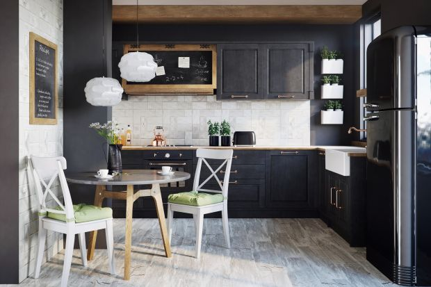 Ceramiczna koronka w kuchni