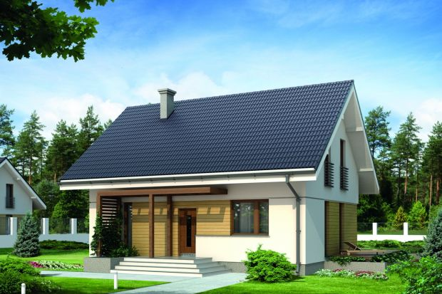 Zobacz projekt małego, drewnianego domu