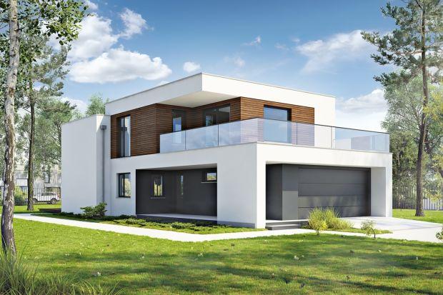 Dynamiczny D22 to dom z płaskim dachem o nowoczesnej stylistyce, dedykowany na wąską działkę do zabudowy miejskiej. Średniej wielkości gabaryty domu zapewniają pełny komfort życia dla 4-5 osobowej rodziny oraz ekonomiczne koszty eksploatacji.