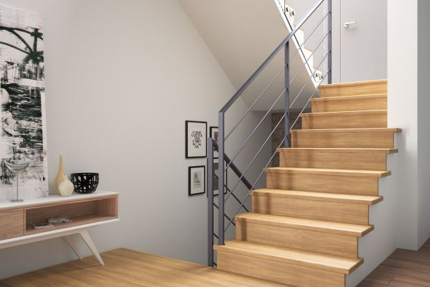 Schody, by pełniły nie tylko funkcjonalną, ale i aranżacyjną rolę we wnętrzu, muszą być odpowiednio dobrane, zarówno konstrukcją, jak i materiałami wykończeniowymi, do stylu dominującego w domu, w tym rodzaju posadzki.